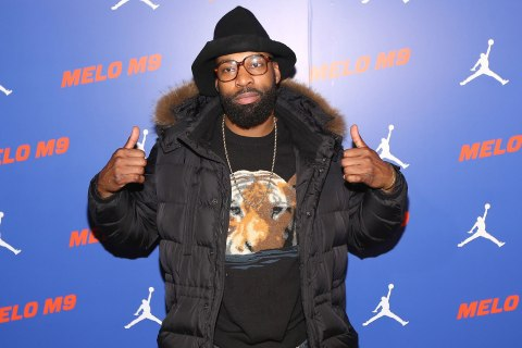 attends the Jordan Brand Melo M9 Shoe Launch at Highline Stages on January 13, 2013 in New York City.