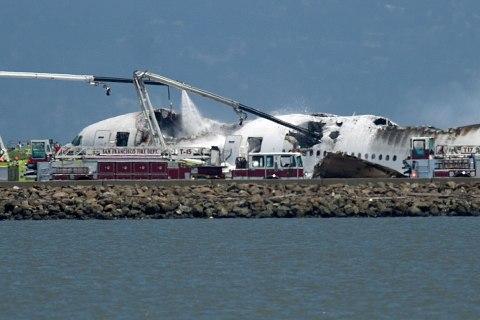 APTOPIX Plane Crash SFO