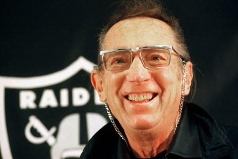 Oakland Raiders owner Al Davis