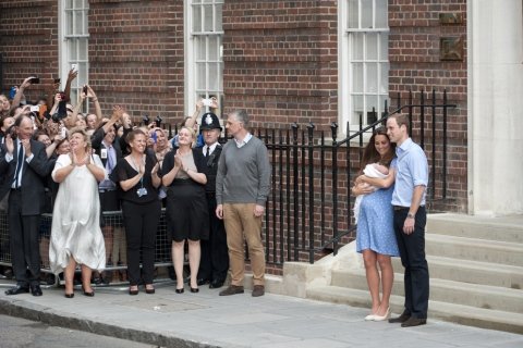 Kate and William at St. Mary's