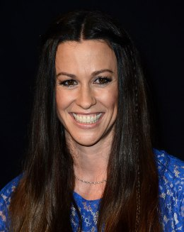 Singer Alanis Morissette is honored with handprints on Guitar Center's Rockwalk at Guitar Center on August 21, 2012 in Hollywood, Calif.