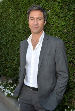 Actor Eric McCormack arrives at the Rape Treatment Center Brunch honoring Norman Lear hosted by Viola Davis at a Private Residence on October 14, 2012 in Beverly Hills, Calif.