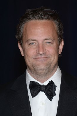 Matthew Perry attends the White House Correspondents' Association Dinner at the Washington Hilton on April 27, 2013 in Washington, DC.