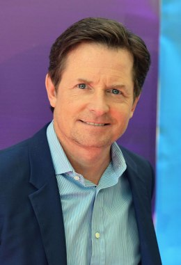 Actor Michael J. Fox attends 2013 NBC Upfront Presentation Red Carpet Event at Radio City Music Hall on May 13, 2013 in New York.