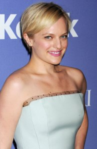 Elisabeth Moss attends Women In Film's 2013 Crystal + Lucy Awards at The Beverly Hilton Hotel in Beverly Hills, Calif., on June 12, 2013.