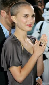 Natalie Portman at the German premiere of 'Star Wars - Episode III - Revenge of the Sith' in Berlin, on May 17, 2005.
