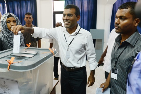 MALDIVES-POLITICS-VOTE