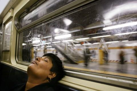 Subway Nap