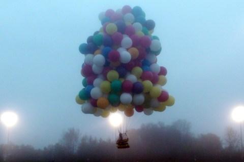 Cluster Balloon Flight
