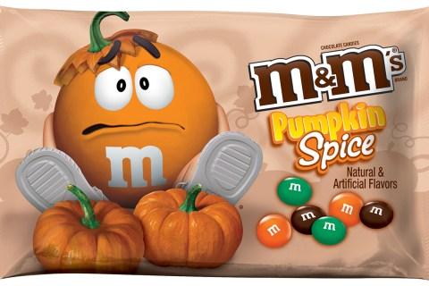 MMs Pumpkin Spice Candies