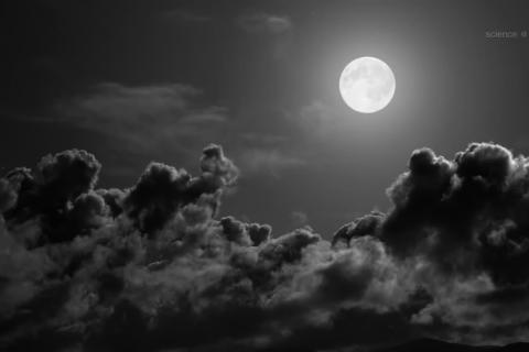 NASA Harvest Moon