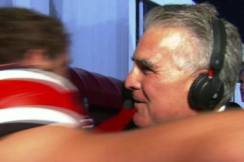 72 Hugs for Sportscaster