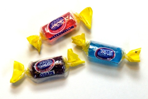 "DENVER, COLO. - DECEMBER 23, 2004 - ""The Jolly Rancher Candy Company was founded in Golden, Colorado, by Bill and Dorothy Harmsen in 1949. They called the company Jolly Rancher to suggest a hospitable, western company. The company originally made ice crea"