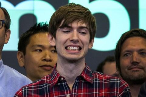 Tumblr Founder David Karp Opens NASDAQ Exchange