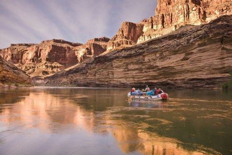Raft the Grand Canyon
