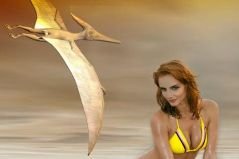 Taken by the Pterodactyl dinosaur monster erotica