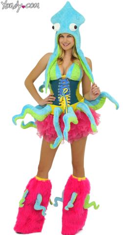 sexy halloween costume yandy  squid