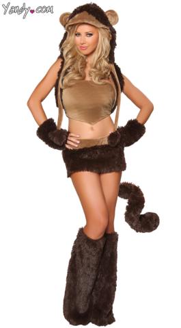 sexy halloween costume yandy  monkey