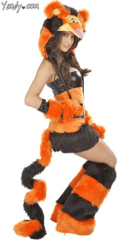 tigger sexy halloween costume yandy