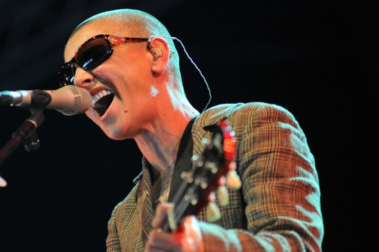 Sinead O'Connor performs on stage during Day 2 of Bestival 2013 at Robin Hill Country Park on Sept. 6, 2013 in Newport, Isle of Wight.
