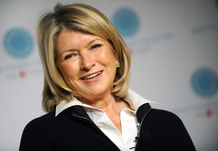Martha Stewart at Macy's Herald Square on May 17, 2013 in New York City.