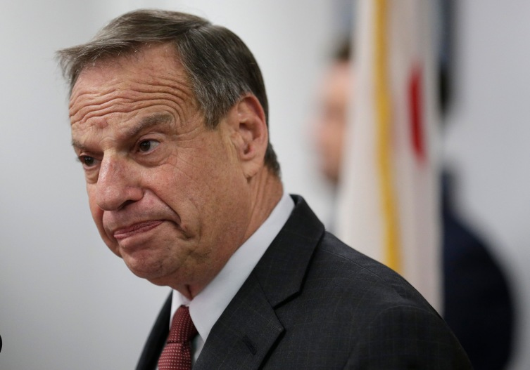 San Diego mayor Bob Filner speaking during a news conference at City Hall in San Diego, on July 26, 2013.