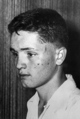 Charles Manson, 14, in Indianapolis, circa 1935.