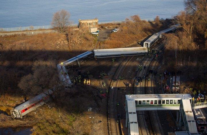 NYC Metro-North Train Derailment