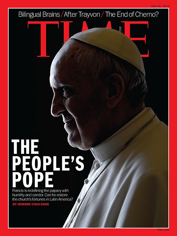 Pope Francis devil horns 1