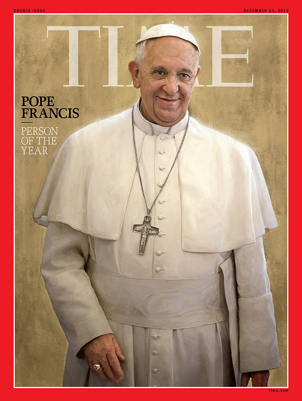 Pope Francis devil horns 2