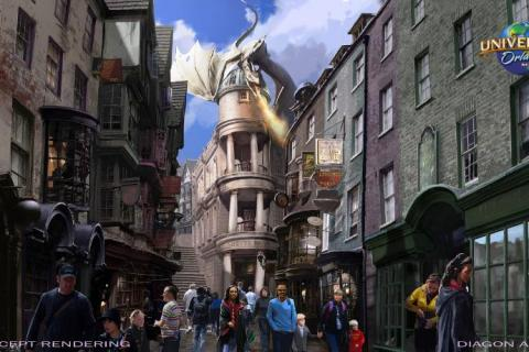 UNIVERSAL ORLANDO RESORT DIAGON ALLEY