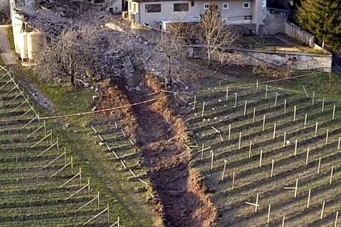Italy-Landslide