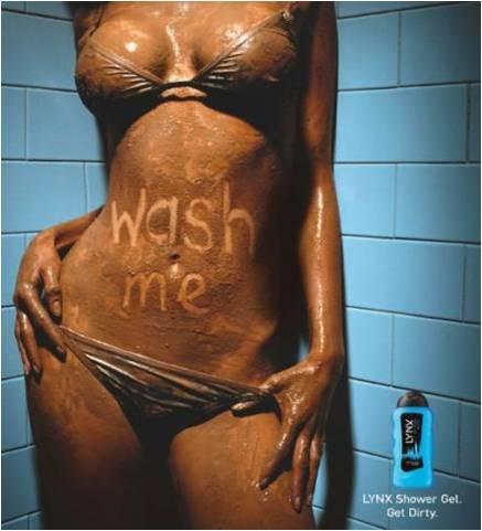 Lynx ad wash me sexist headless