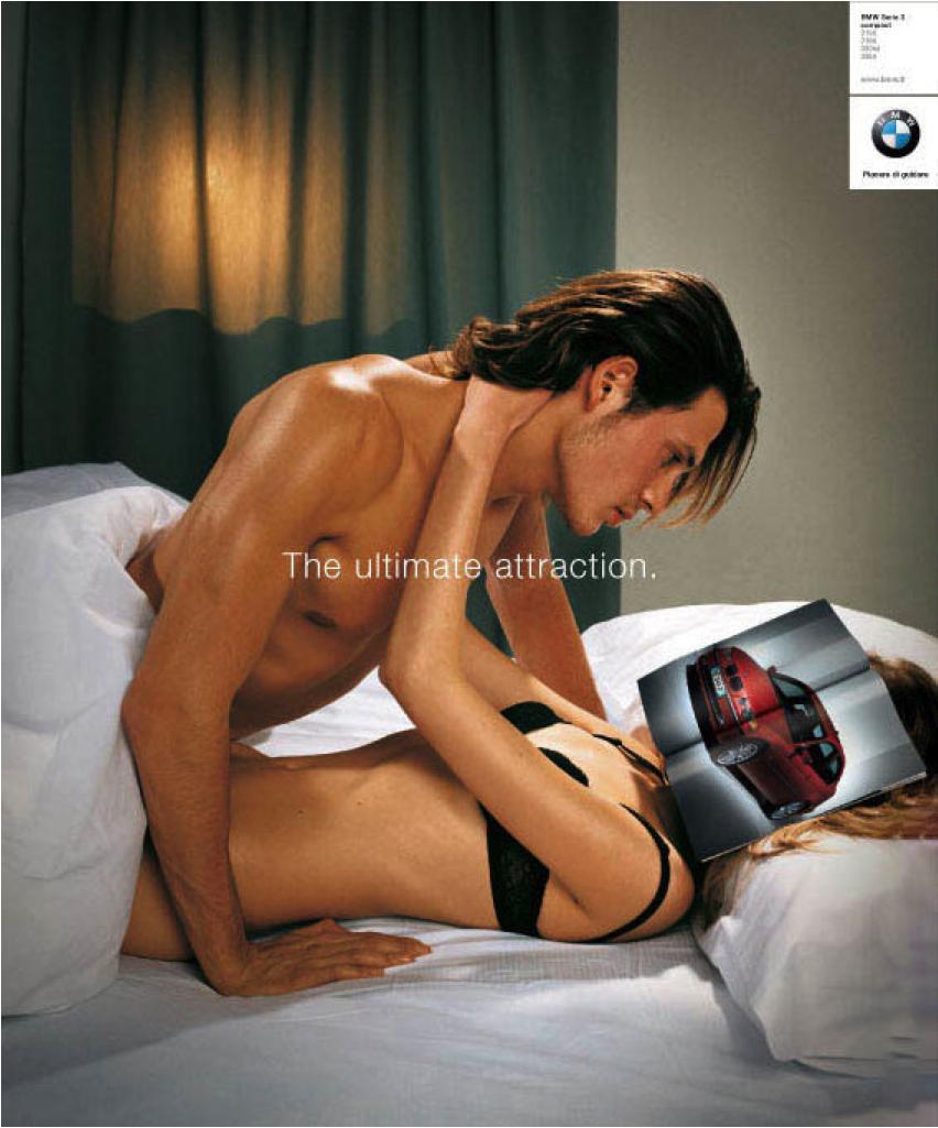 BMW sexist ad headless woman