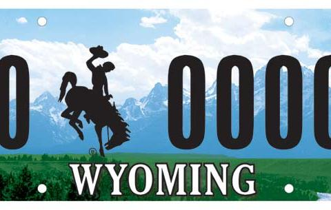 Wyoming License Plate - Wyoming Department of Transportation