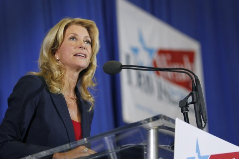 Wendy Davis is running for gov. of Texas