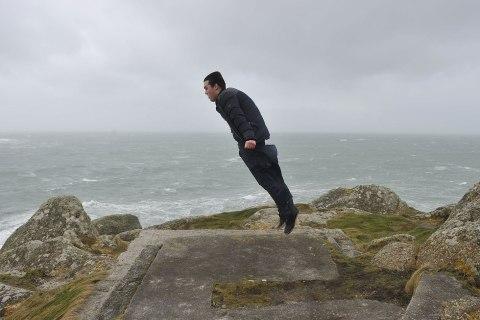 Storm hits Porthleven