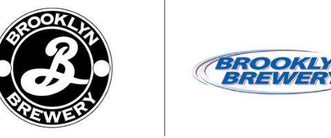 brooklyn brewery hipster logo