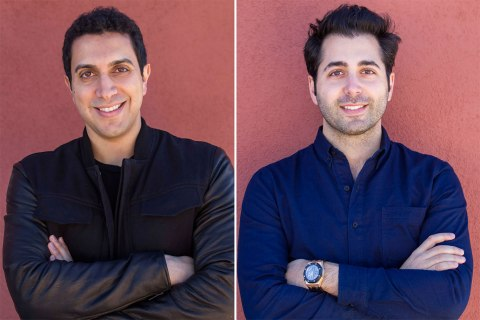 Tinder founders Sean Rad and Justin Mateen
